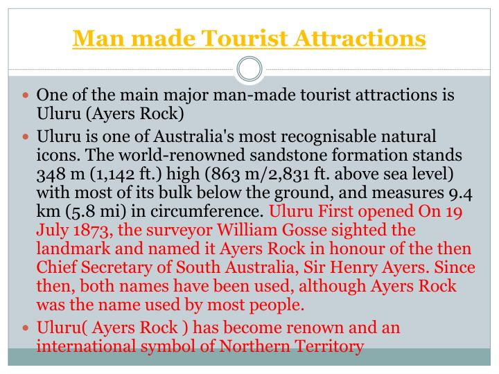 Man made Tourist Attractions