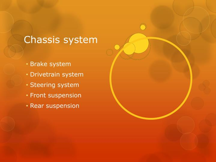 Chassis system