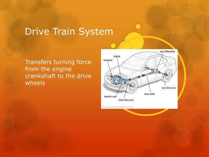 Drive Train System