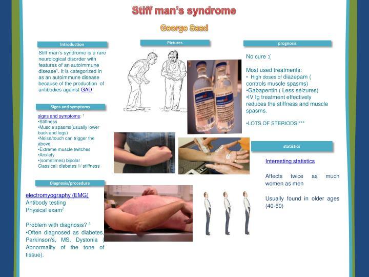 Stiff man's syndrome