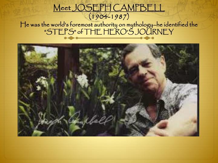 Meet JOSEPH CAMPBELL