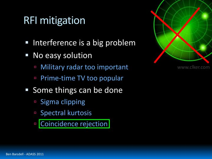 RFI mitigation