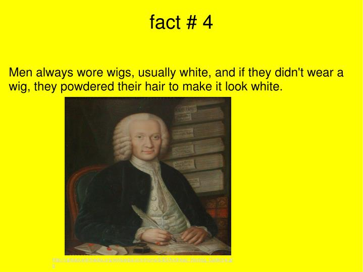 fact # 4
