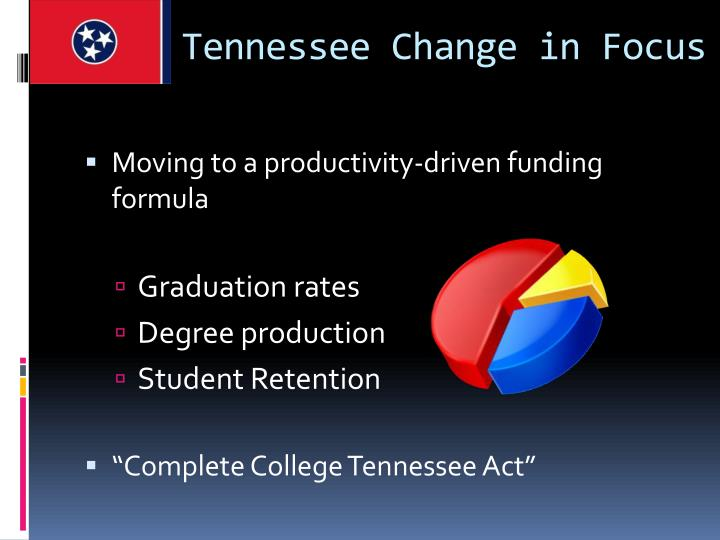 Tennessee Change in Focus