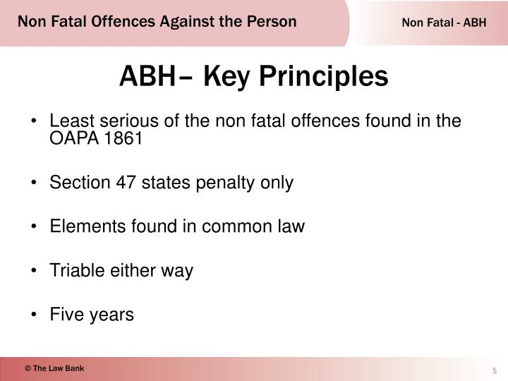 offences against the person act 1861 essay This essay has been submitted by a law student this is not an example of the  work written by our professional essay writers.