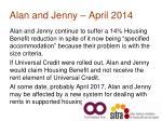 alan and jenny april 2014