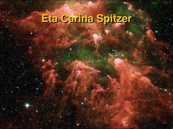 Eta Carina Spitzer