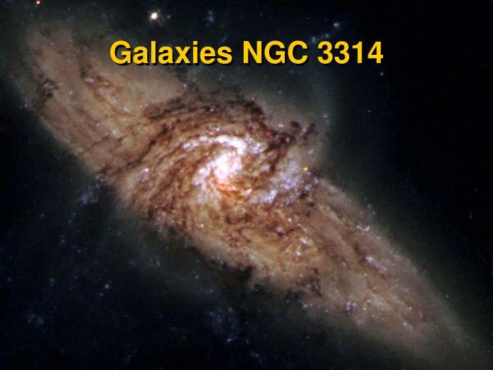 Galaxies NGC 3314