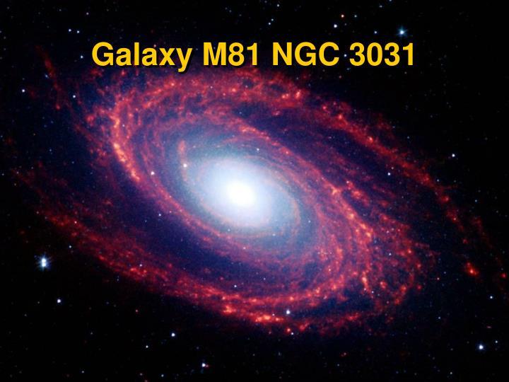 Galaxy M81 NGC 3031