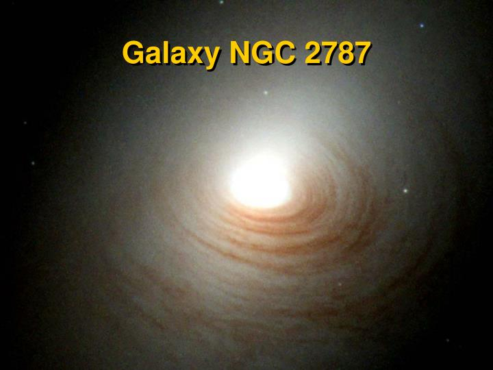 Galaxy NGC 2787