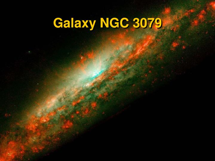 Galaxy NGC 3079