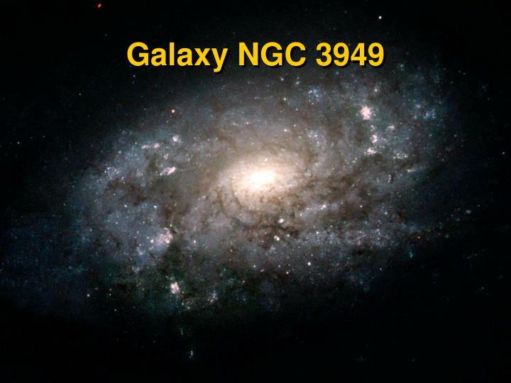 Galaxy NGC 3949