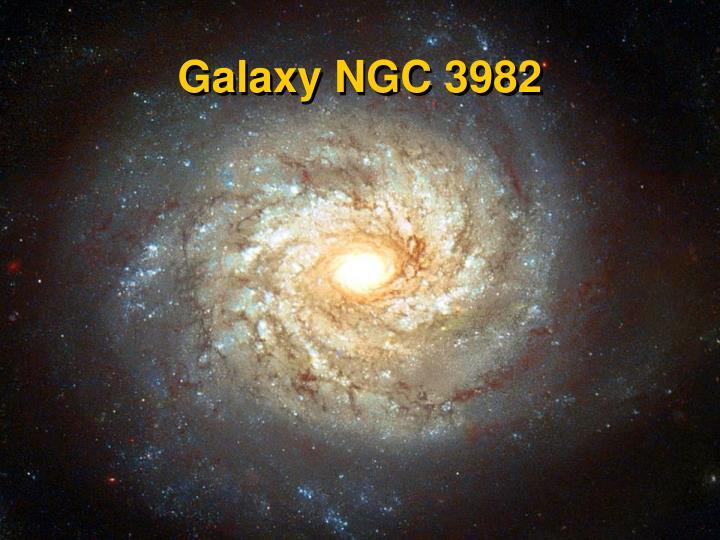 Galaxy NGC 3982