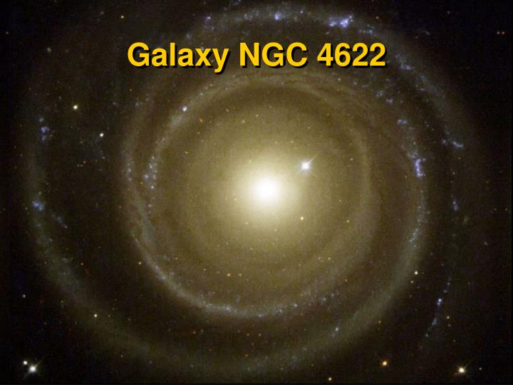 Galaxy NGC 4622