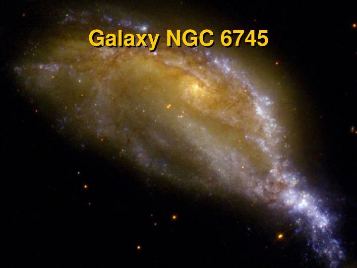 Galaxy NGC 6745