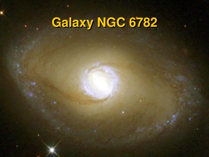 Galaxy NGC 6782