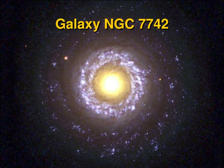 Galaxy NGC 7742