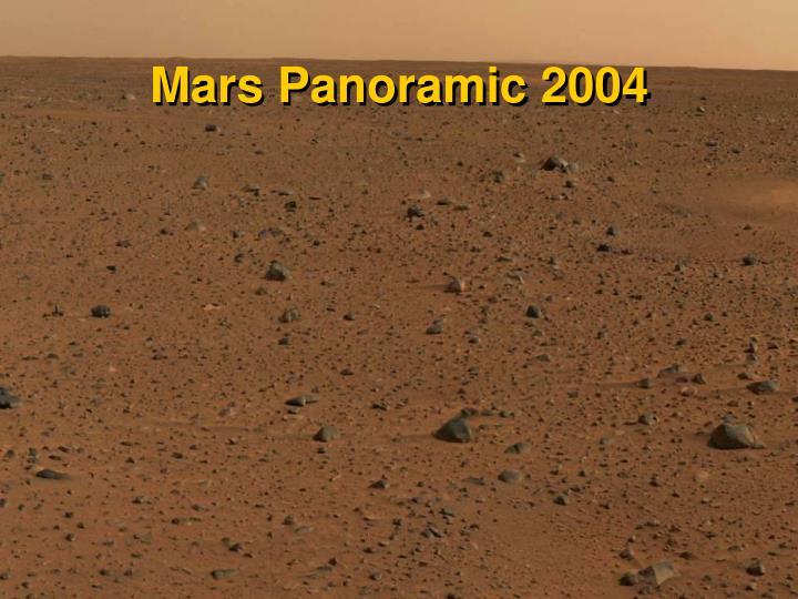 Mars Panoramic 2004