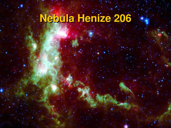 Nebula Henize 206