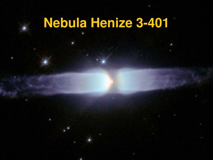 Nebula Henize 3-401