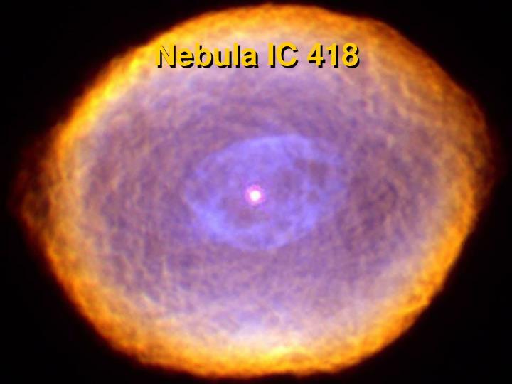 Nebula IC 418