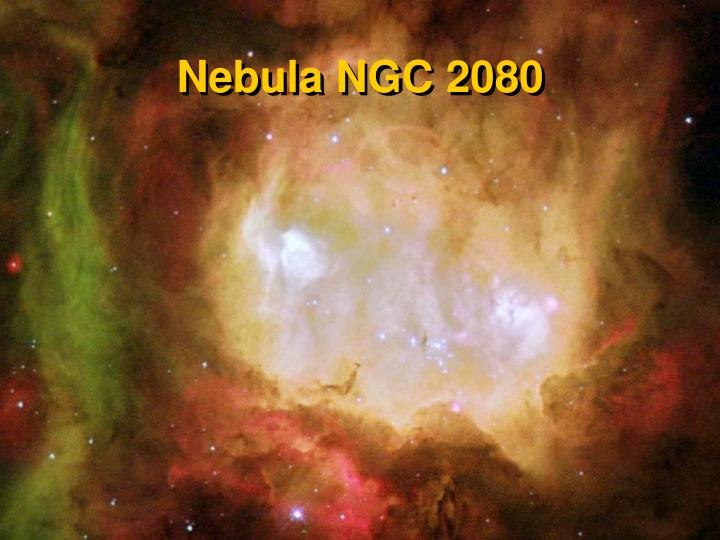 Nebula NGC 2080