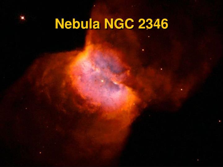 Nebula NGC 2346