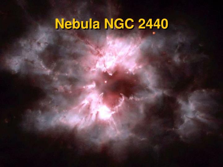 Nebula NGC 2440