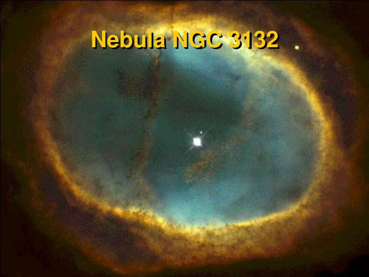 Nebula NGC 3132