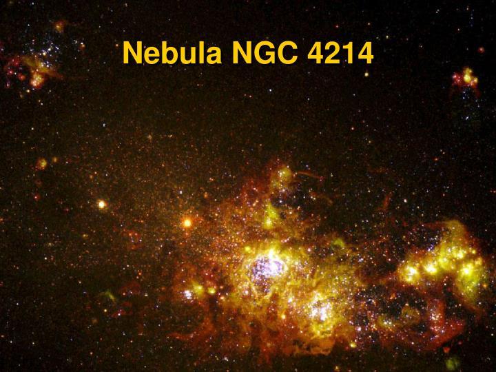Nebula NGC 4214