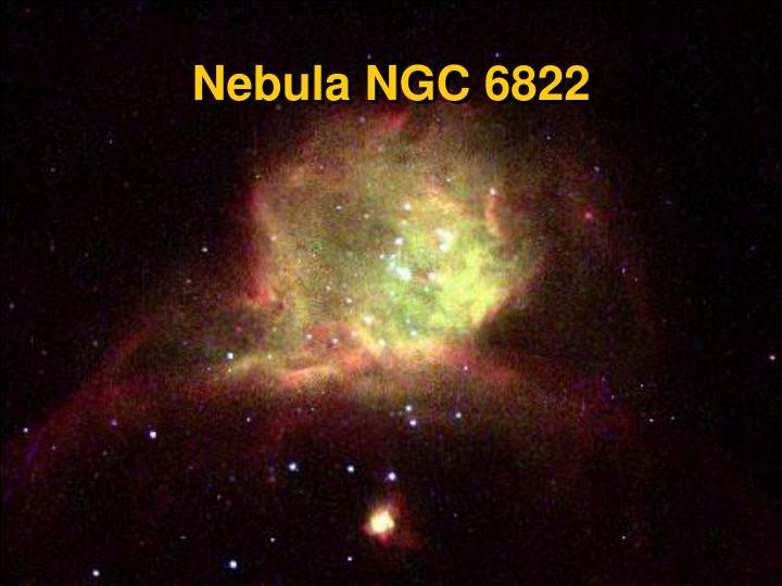 Nebula NGC 6822