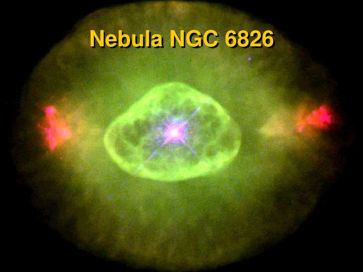 Nebula NGC 6826