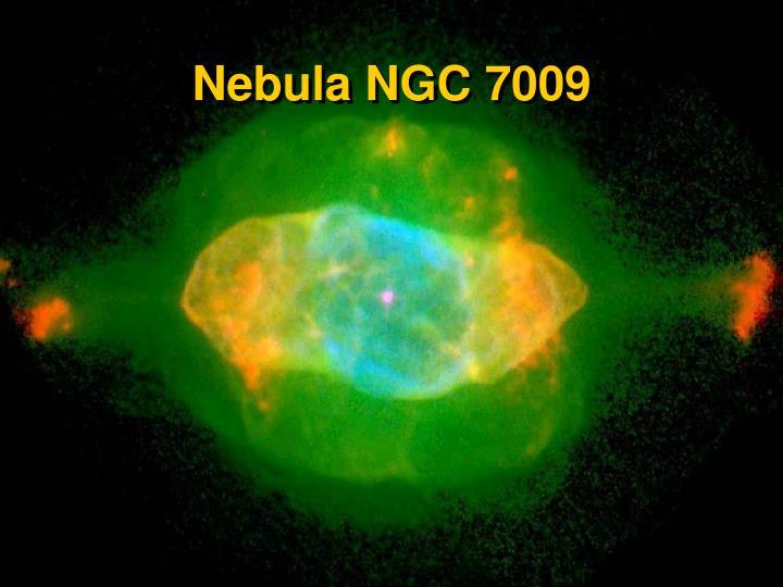 Nebula NGC 7009