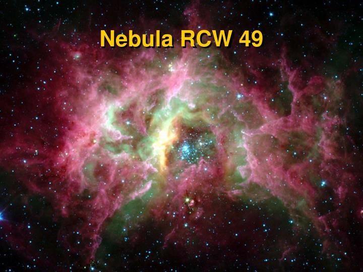 Nebula RCW 49