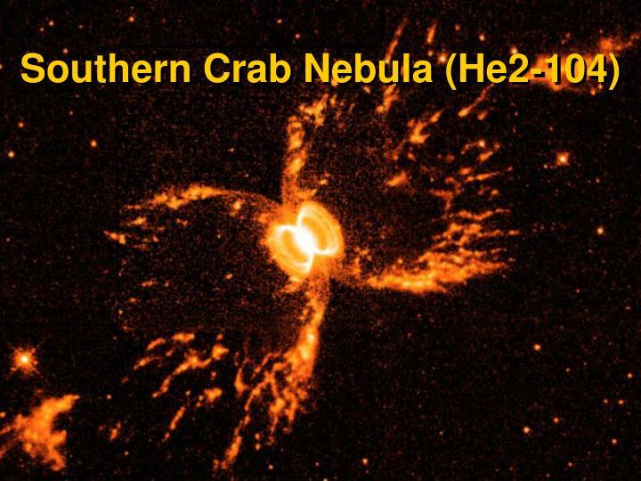 Southern Crab Nebula (He2-104)