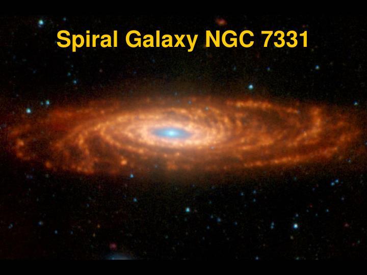 Spiral Galaxy NGC 7331