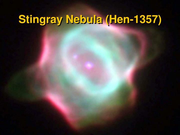 Stingray Nebula (Hen-1357)