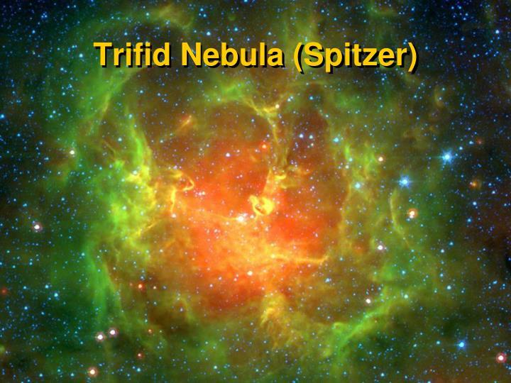 Trifid Nebula (Spitzer)