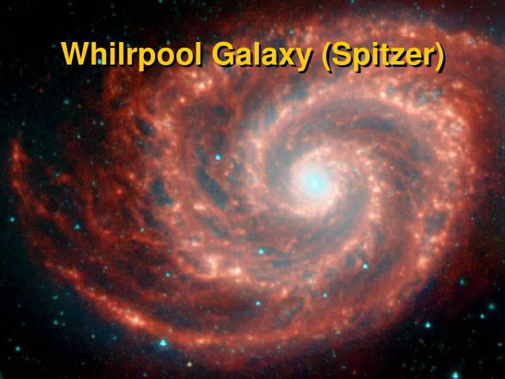 Whilrpool Galaxy (Spitzer)