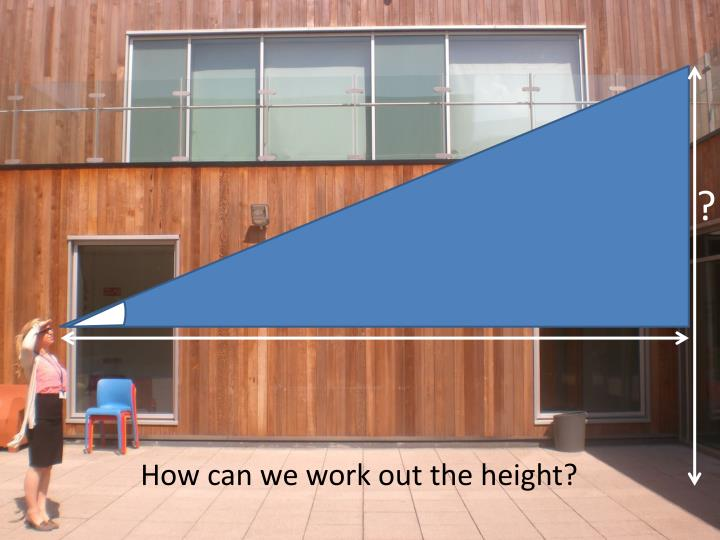 How can we work out the height?