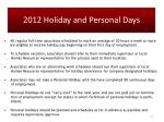 2012 holiday and personal days1