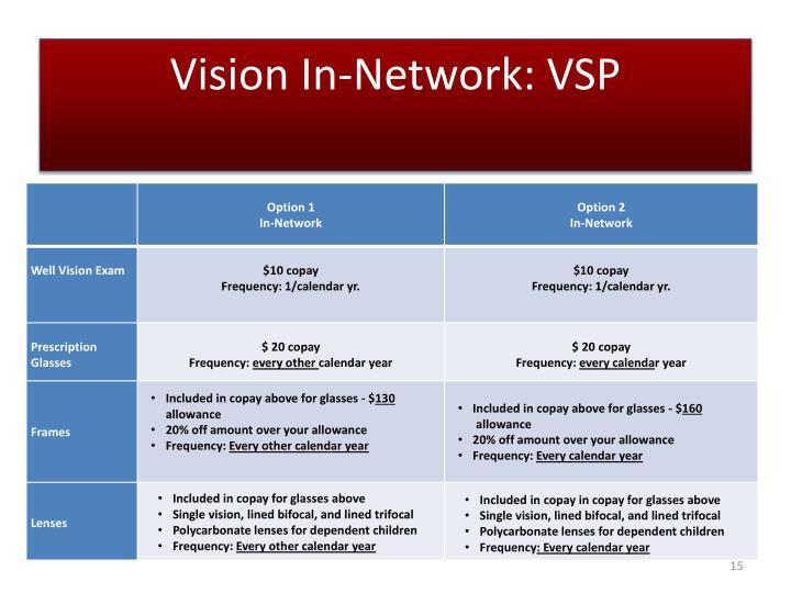 Vision In-Network: VSP