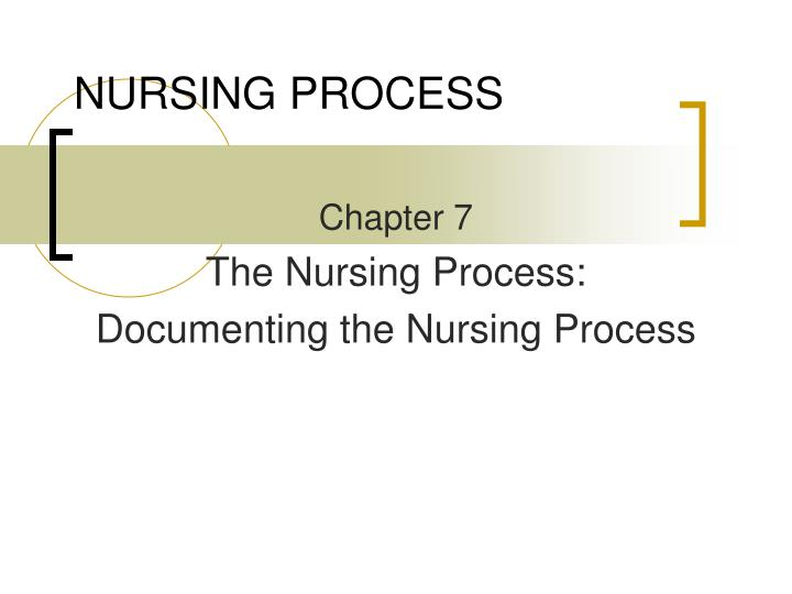 chapter 2 critical thinking and the nursing process