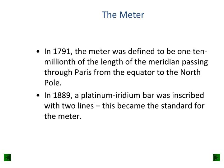 The Meter
