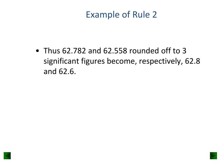 Example of Rule 2