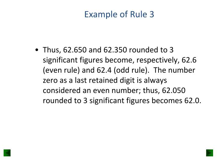 Example of Rule 3