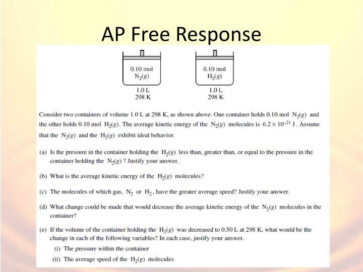 AP Free Response