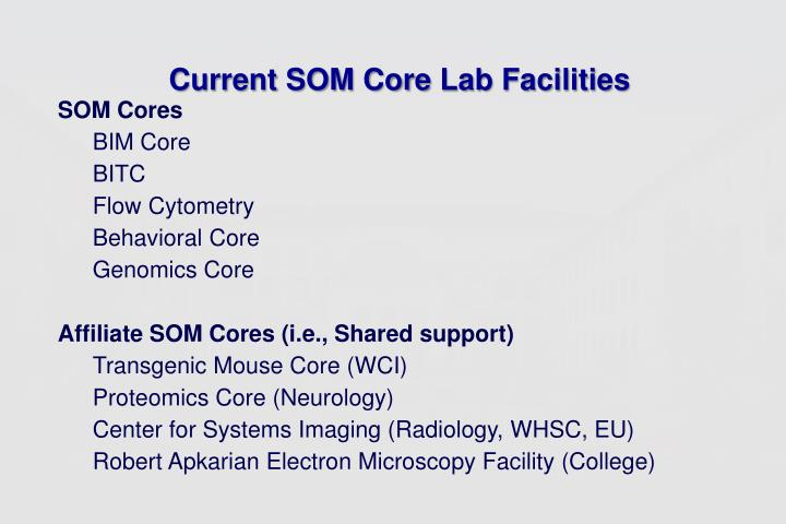 Current SOM Core