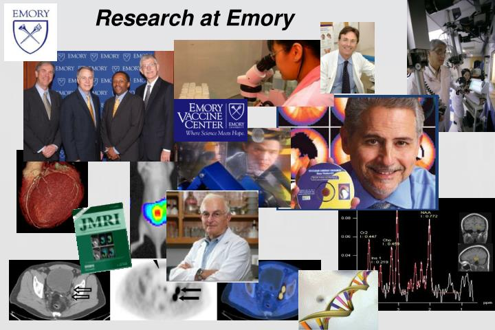 Research at Emory