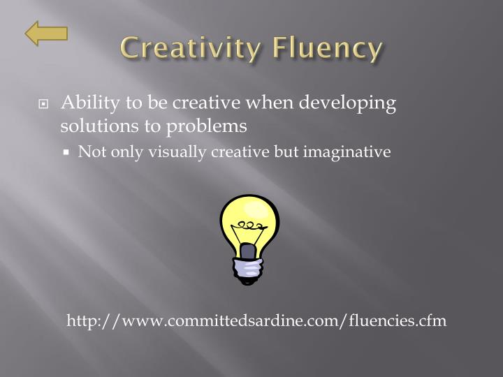Creativity Fluency